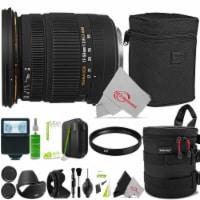Sigma 17-50mm F/2.8 Ex Dc Os Hsm Zoom Lens For Nikon + Accessory Bundle - 1