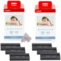 Two Pack Canon KP-108IN Selphy Color Ink 4x6 & Paper Set for SELPHY CP910 CP900 - 1