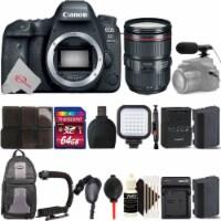 Canon Eos 6d Mark Ii Dslr Camera + Canon 24-105 F/4l Is Ii Usm Lens Accessory Kit