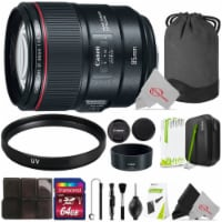 Canon Ef 85mm F/1.4l Is Usm Lens With Uv And Cleaning Accessory Kit - 1