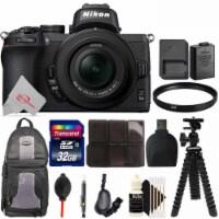 Nikon Z50 Mirrorless Digital Camera With 16-50mm Lens + Essential Accessory Kit - 1
