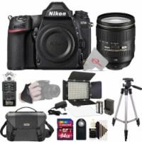 Nikon D780 24.5mp Fx-format Dslr Camera Body + Af-s 24-120mm Ed Vr Lens + Handy Recorder - 1