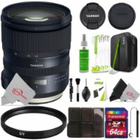 Tamron Sp 24-70mm F/2.8 Di Vc Usd G2 Full-frame Lens For Canon Ef And Cleaning Accessory Kit - 1