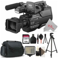 Sony Hxr-mc2500e Shoulder Mount Avchd Camcorder Pal With Essential Accessory Kit - 1