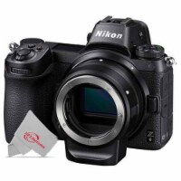 Nikon Z6 Fx-format Mirrorless Uhd 4k30 Video Digital Camera Body Only With Ftz Mount Adapter - 1