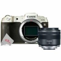 Canon Eos Rp 26.2mp Mirrorless Digital Camera Body - Gold + Rf 35mm Is Macro Stm Lens - 1