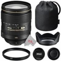 Nikon Af-s Nikkor 24-120mm F/4g Ed Vr Lens + Uv Filter