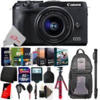 Canon Eos M6 Mark Ii 32.5mp Mirrorless Digital Camera With 15-45mm Lens + Essential Kit - 1