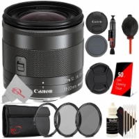 Canon Ef-m 11-22mm F/4-5.6 Is Stm 35mm Equivalent Lens + Essential Accessory Kit