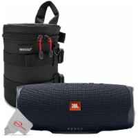 Jbl Charge 4 Portable Bluetooth Speaker Black + Case