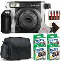 Fujifilm Instax Wide 300 Instant Film Camera + 4 Pack Instax Wide 2x10 Film Kit