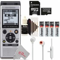 Olympus Ws-852 V415121su000 Digital Voice Recorder (silver) + Headphone Accessory Kit - 1