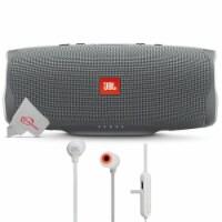 Jbl Charge 4 Portable Bluetooth Speaker Gray Stone + Jbl Tune 110bt Headphones - 1