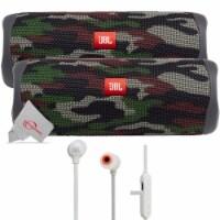 Two Pieces Jbl Flip 5 Portable Bluetooth Speaker - Squad + Wireless Headphones - 1