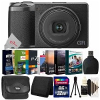 Ricoh Gr Iii Digital Camera With Photo Editing Software Top Accessory Kit