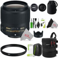Nikon Af-s Nikkor 35mm F/1.8g Ed Fixed Zoom Lens + Cleaning Accessory Kit - 1