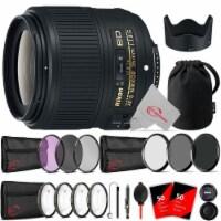 Nikon Af-s Nikkor 35mm F/1.8g Ed Fixed Zoom Lens + Ultimate Accessory Kit - 1