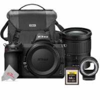 Nikon Z6 Mkii Fx-format 24.5mp Mirrorless Camera With Nikkor Z 24-70 F/4 Ftz + 64gb Kit