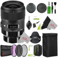Sigma 35mm F/1.4 Dg Hsm Art Lens 340965 For Sony E With Filter Accessory Kit - 1