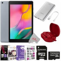 Samsung 10.1 Inches Galaxy Tab A Sm-t510 32gb Silver + Essential Accessory Kit - 1