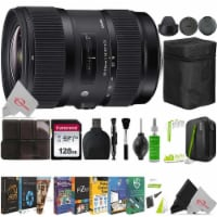 Sigma 18-35mm F/1.8 Dc Hsm Art Lens + Essential Accessory Kit For Canon Ef