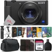 Sony Zv-1 20.1mp Digital Camera (black) + Wireless Shooting Grip + Accessory Kit