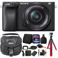Sony Alpha A6600 Mirrorless Digital Camera With 16-50mm Lens + 32gb Accessory Kit - 1