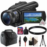 Sony Fdr-ax700 4k Handycam Camcorder + Uv Filter + 64gb Accessory Kit