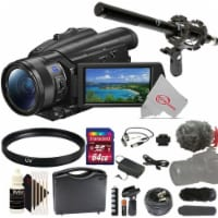 Sony Fdr-ax700 4k Handycam Camcorder + Essential Accessory Kit - 1