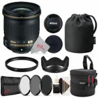 Nikon Af-s Nikkor 24mm F/1.8g Ed Full-frame Lens + Essential Accessory Kit - 1