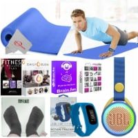 Fitness Yoga Mat Scale Bluetooth Speaker 6000 Online Classes For Muscle Training - 1