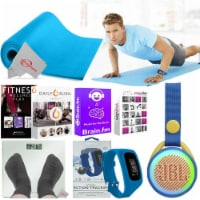 Exercise Fitness Floor Gym Workout Mat Speaker Online Training Activity Tracker - 1