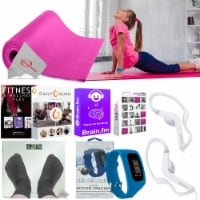 Teenage 5mm Durable Exercise Pad Bathroom Scale Action Activity Tracker Earbuds - 1