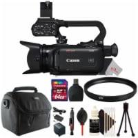 Canon Xa40 Professional Uhd 4k 20x Optical Zoom Lens Camcorder + Uv Filter Accessory Kit
