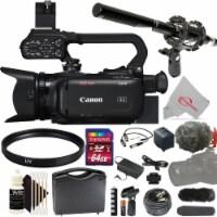 Canon Xa40 Professional Uhd 4k 20x Optical Zoom Lens Camcorder + Microphone Kit