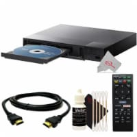 Sony Streaming Bdp-s1700 Blu-ray Disc Dvd Player With Remote With Essential Accessory Kit