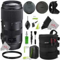 Sigma 100-400mm F/5-6.3 Dg Os Hsm Lens For Canon Ef + Accessory Kit