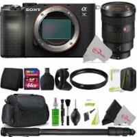 Sony Alpha A7c Mirrorless Camera With Sony Fe 24-70mm Lens 64gb Accessory Kit - 1