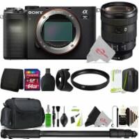 Sony Alpha A7c Mirrorless Camera With Sony Fe 24-105mm Lens 64gb Accessory Kit - 1