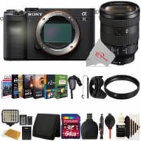 Sony Alpha A7c Mirrorless Camera With Sony Fe 24-105mm Lens Top Accessory Kit - 1