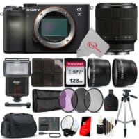 Sony Alpha A7c Mirrorless Camera With Sony 28-70mm Zoom Lens + Accessory Kit - 1