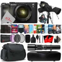 Sony Alpha A7c Mirrorless Camera With Sony 28-70mm Zoom Lens + Top Accessory Kit - 1