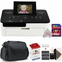 Canon Selphy CP1000 Compact Colored Photo Printer + Accessory Kit