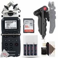 Zoom H5 4-input / 4-track Portable Handy Recorder + Accessory Kit - 1