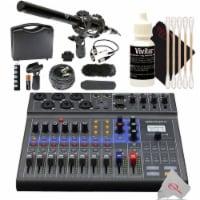 "Zoom Livetrak L-8 Portable Podcast Recorder + Vidpro 1"" Pro Microphone Kit - 1"