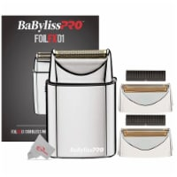 Babyliss Pro Fxfs1 Cordless Single Foil Shaver + 2 Replacement Foil Head, Cutter