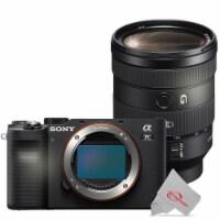 Sony Alpha A7c Mirrorless Digital Camera With Sony Fe 24-105mm F/4 G Oss Lens - 1