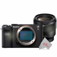 Sony Alpha A7c 24.2mp Built-in Wi-fi Mirrorless Digital Camera + Sony Fe 85mm F/1.8 Lens - 1