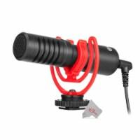Boya By-mm1+ Ultracompact Camera-mount Shotgun Runs On Plug-in Power Microphone - 1