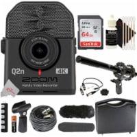 Zoom Q2n-4k Ultra High Definition Handy Video Recorder + Shotgun Microphone Kit - 1